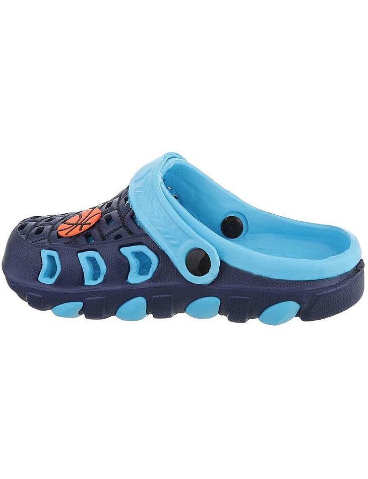 Detské farebné sandále vel. 30