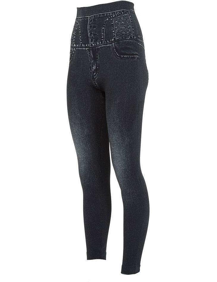 Dámske jeansové legíny vel. XXL/XXXL