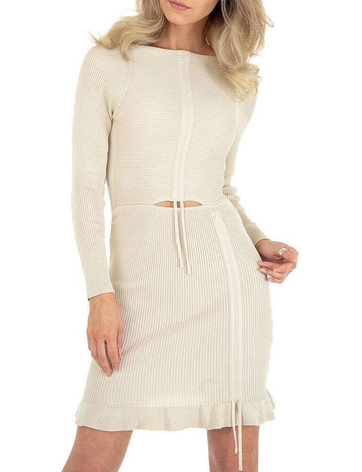 Dámske mini šaty vel. 6 Stück in beige Size: M/L, S/M