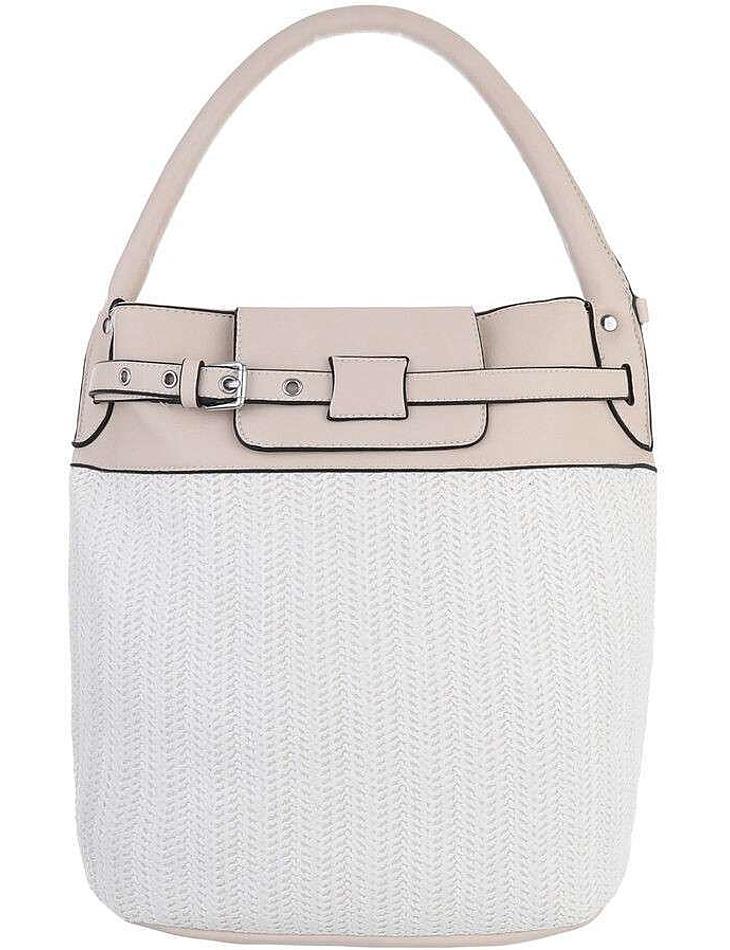 Dámska béžová kabelka