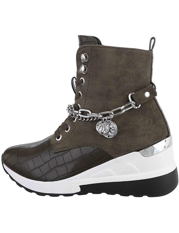 Dámske členkové topánky vel. 40