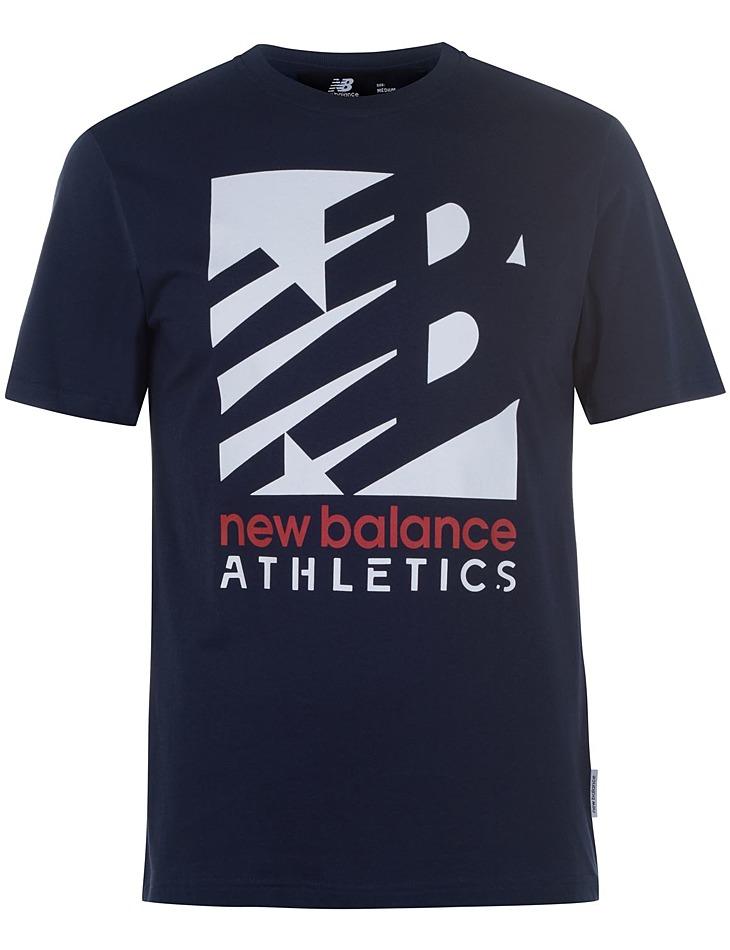 Pánske štýlové tričko New Balance vel. M