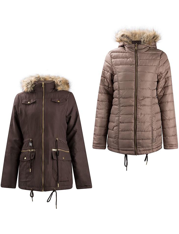 Dámska obojstranná zimná bunda Lee Cooper vel. M