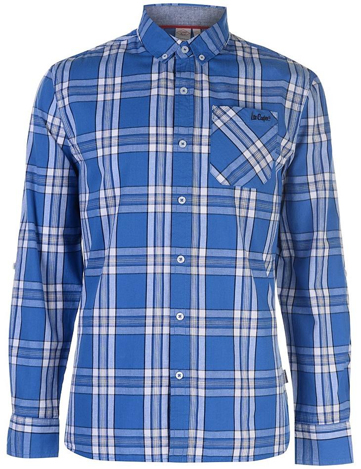 Pánska kockovaná košeĺa Lee Cooper vel. XXL