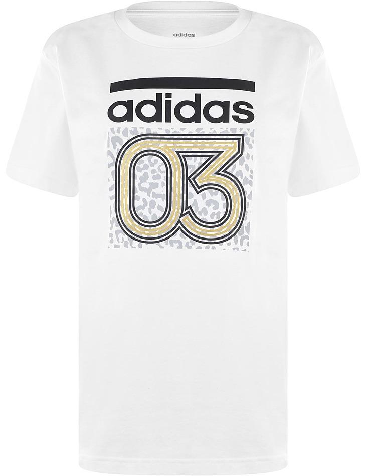Dámske bavlnené tričko Adidas vel. L