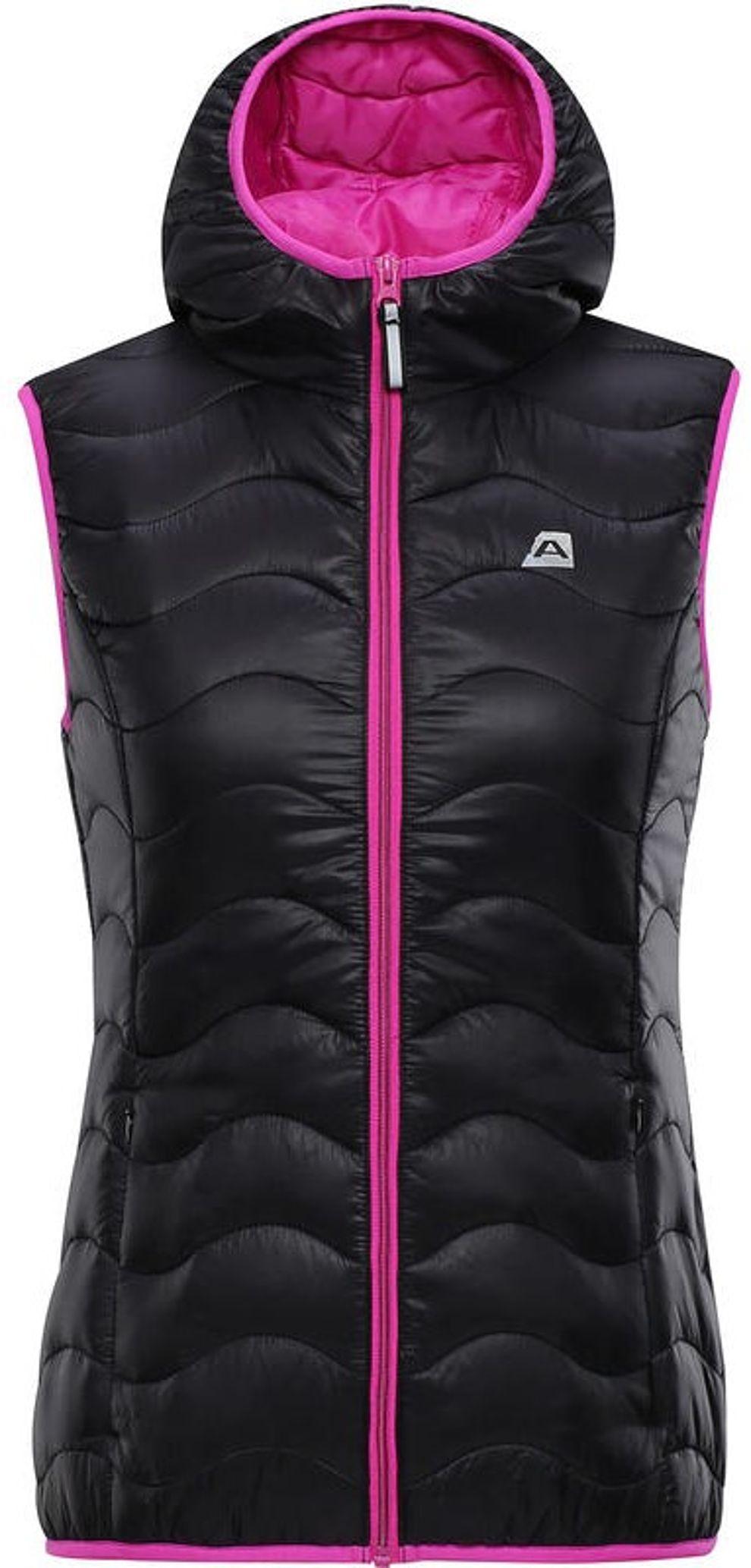 Dámska zateplená vesta Alpine Pro vel. S
