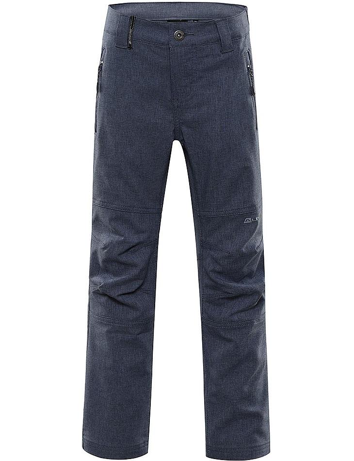 Detské softshellové nohavice Alpine Pro vel. 128-134
