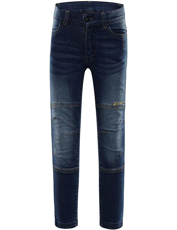 Detské nohavice jeans Alpine Pro vel. 128-134