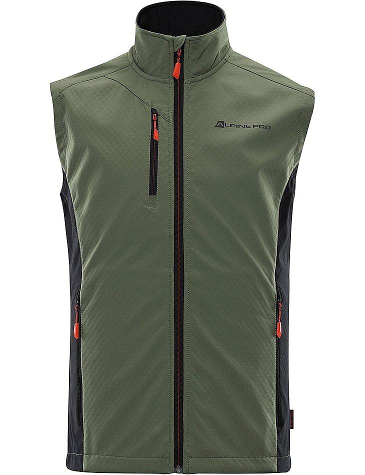 Pánska softshellová vesta Alpine Pro vel. XXXL
