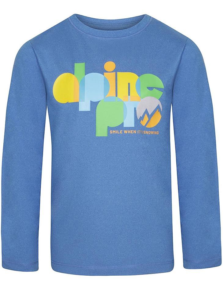 Detské tričko s dlhým rukávom Alpine Pro vel. 152-158