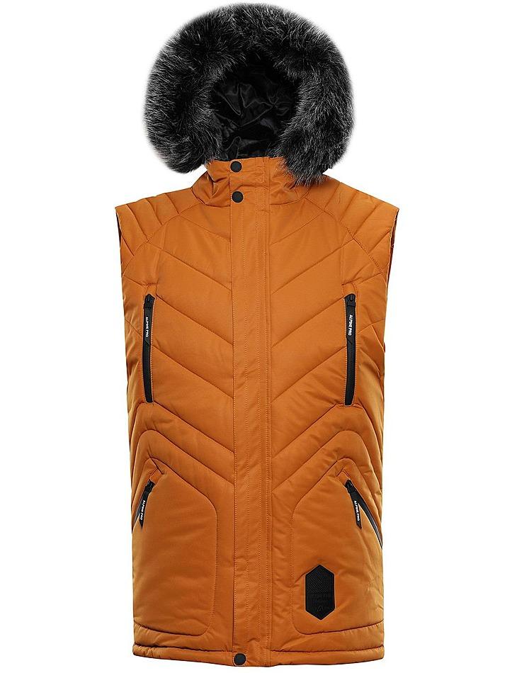 Pánska zimná vesta s membránou Alpine Pro vel. XL