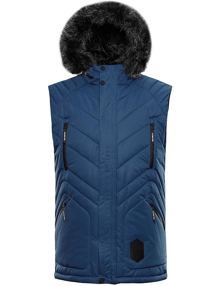 Pánska zimná vesta s membránou Alpine Pro vel. L