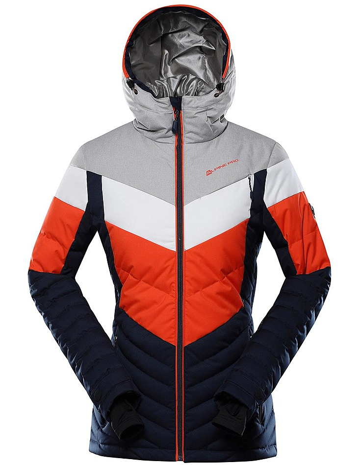 Dámska páperová bunda s membránou ptx Alpine Pro vel. L