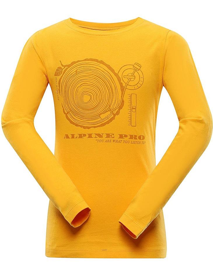 Detské tričko s dlhým rukávom Alpine Pro vel. 104-110