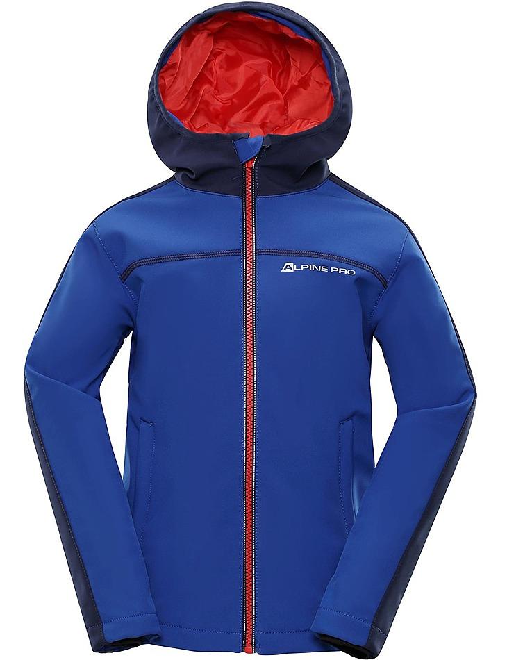 Detská softshellová bunda Alpine Pro vel. 128-134