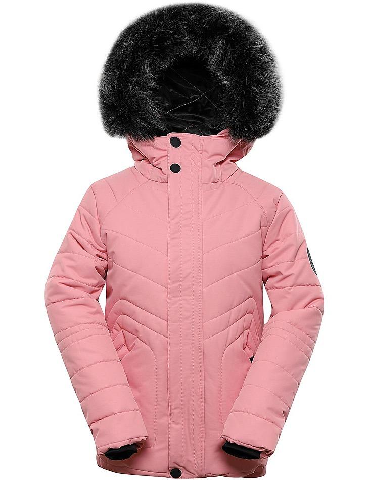 Detská zimná bunda s membránou ptx Alpine Pro vel. 140-146