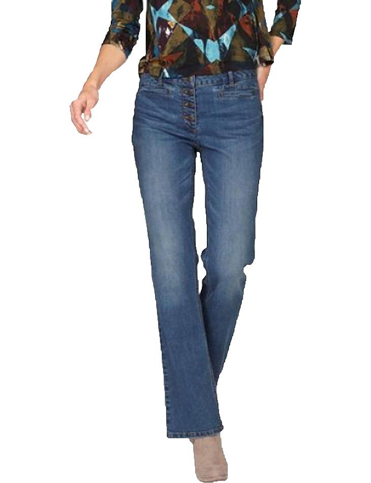 Dámske jeansové nohavice vel. 34