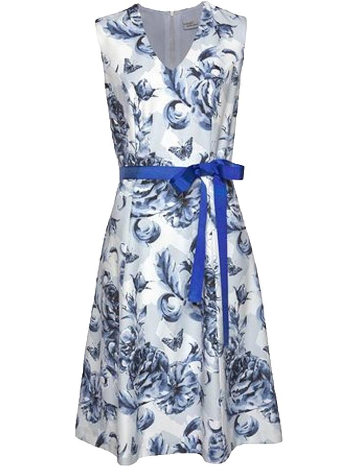 Kvetinové dámske šaty Bodyright vel. 50