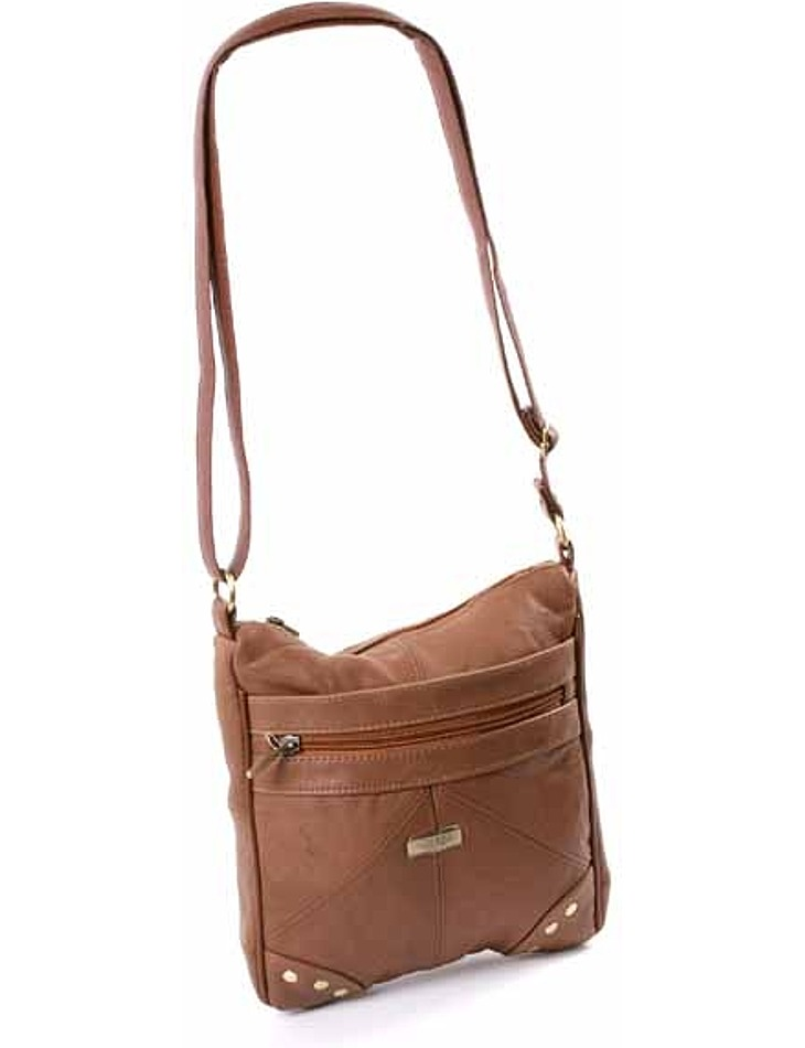 Štýlová kožená kabelka