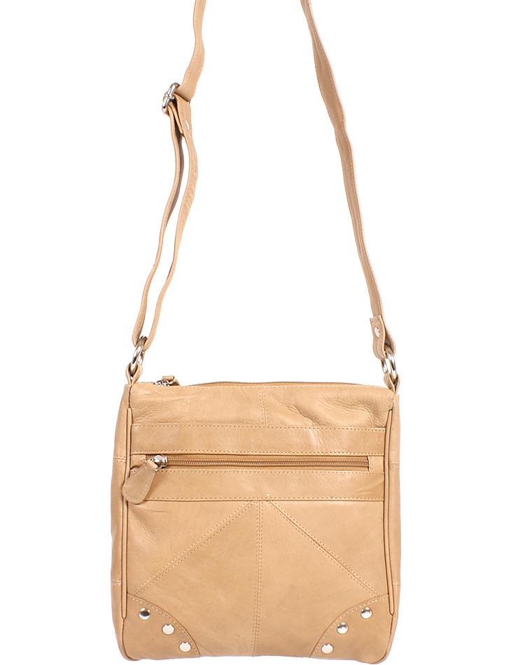Dámska kožená kabelka