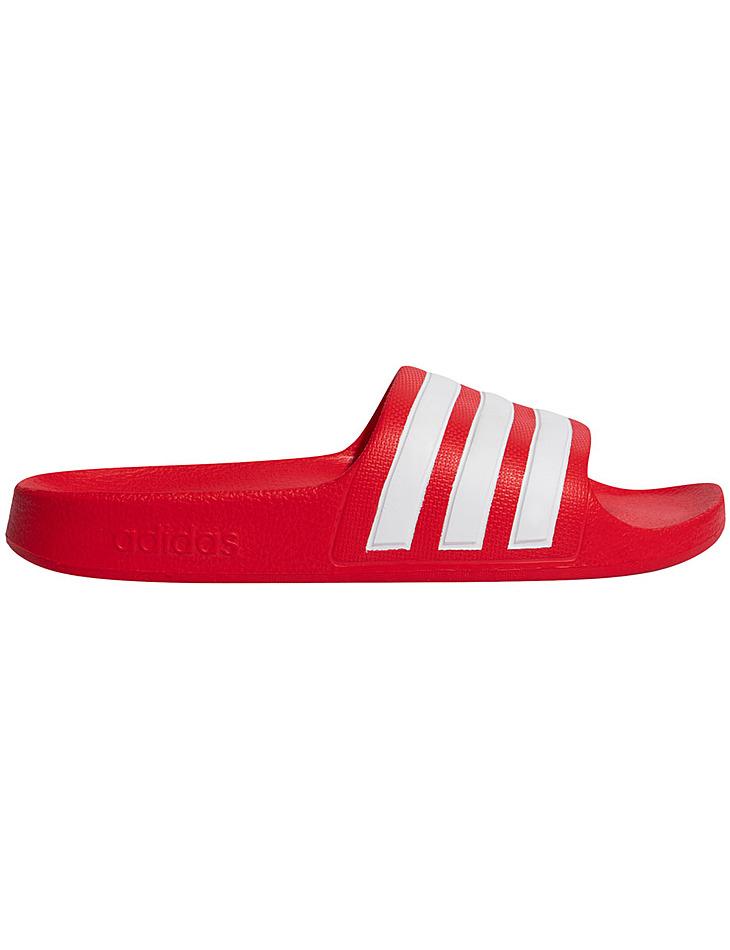 Červené detské papuče Adidas Adilette Aqua vel. 33