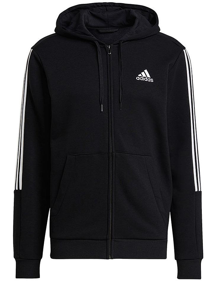 Čierna pánska mikina Mikina s kapucňou Adidas Essentials vel. S