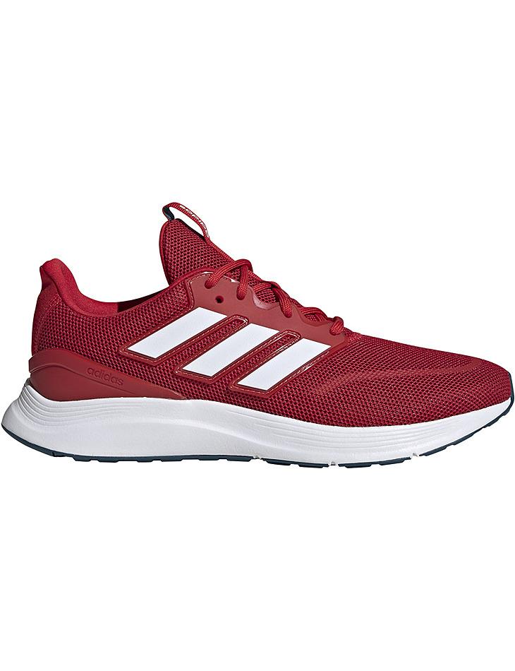 Červené pánske bežecké topánky Adidas Energyfalcon vel. 43 1/3