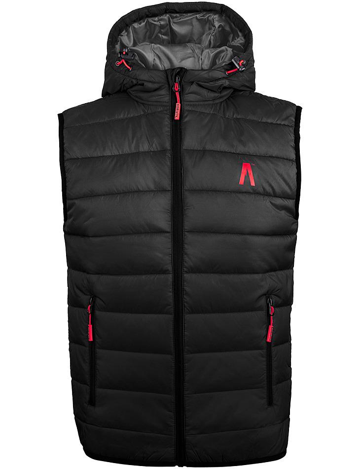 Pánska čierna vesta Alpinus vel. XL