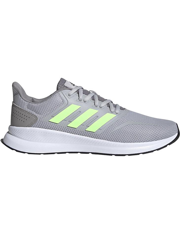 Šedé pánske topánky Adidas Runfalcon vel. 41 1/3