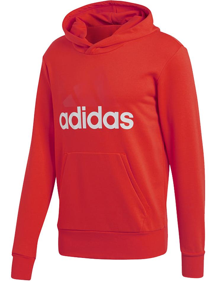 Červená pánska mikina Adidas vel. XL
