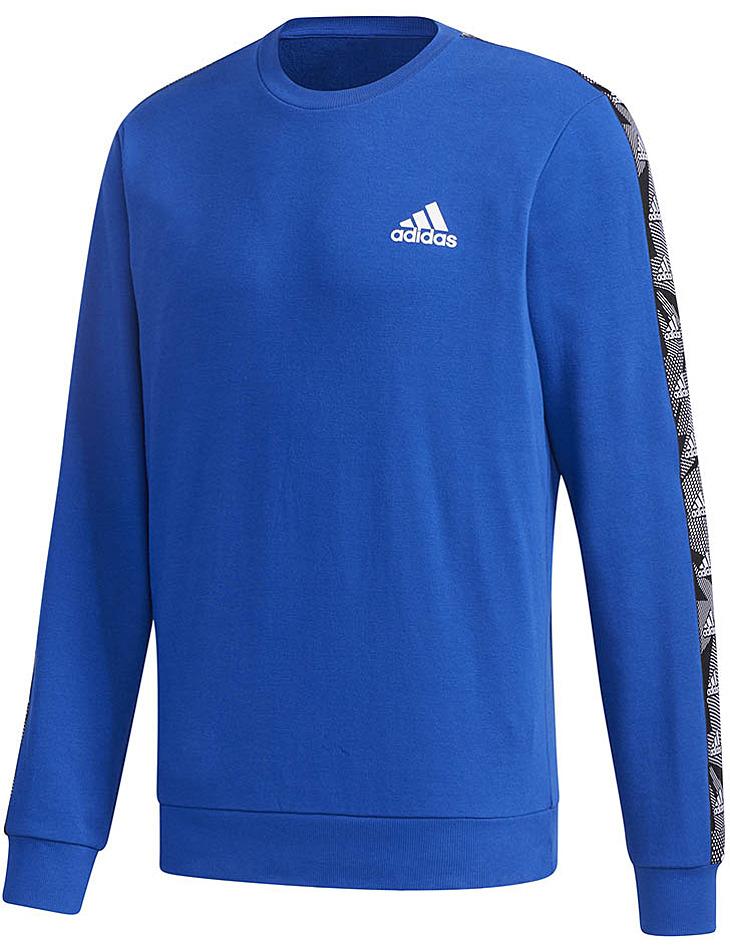 Modrá pánska mikina Adidas vel. S