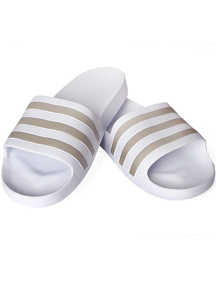 Biele papuče Adidas vel. 40,5