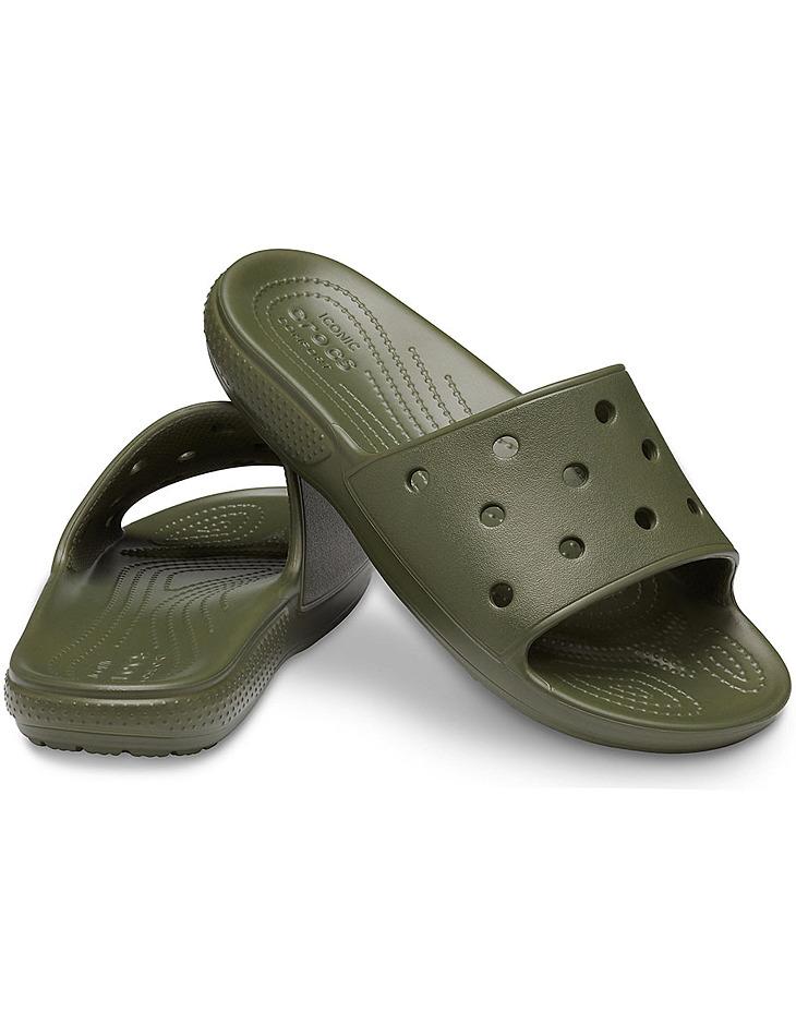 Khaki papuče Crocs vel. 41-42