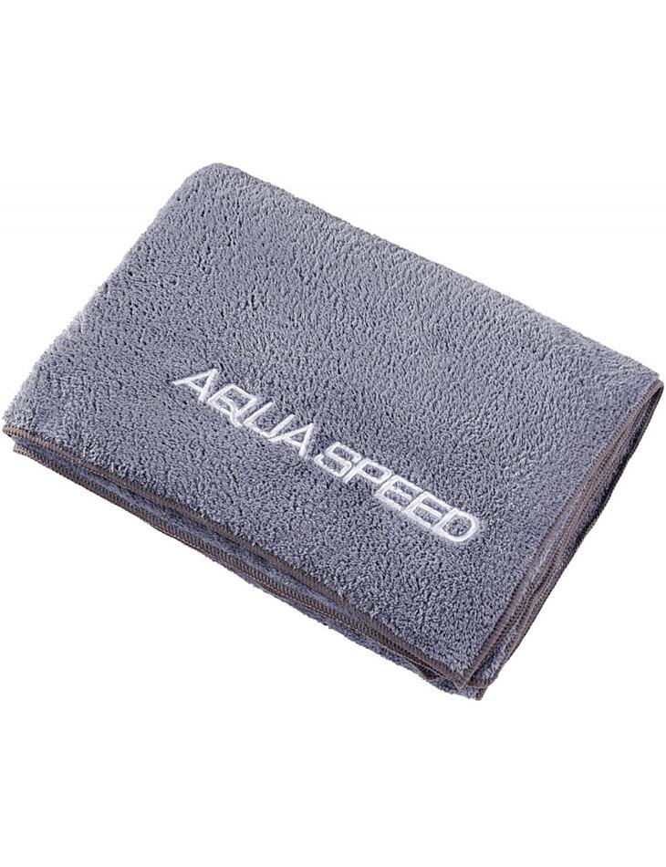 AQUA-SPEED suchý koralový uterák 350g 70x140 sivá 03/157