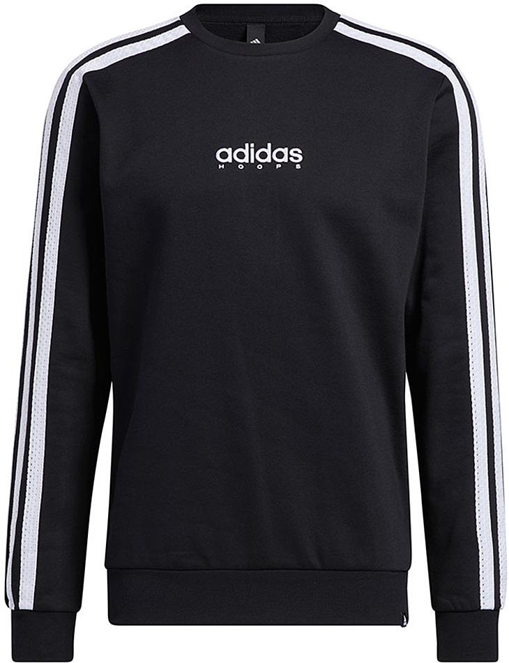 Čierna pánska mikina Adidas vel. 2XL