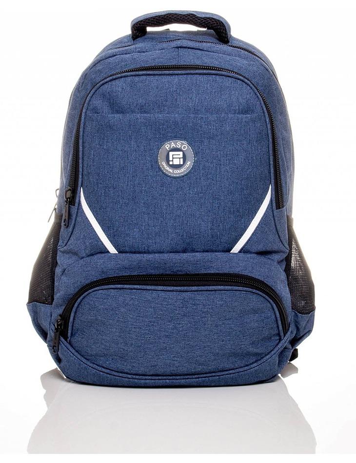Tmavo-modrý školský batoh vel. univerzální