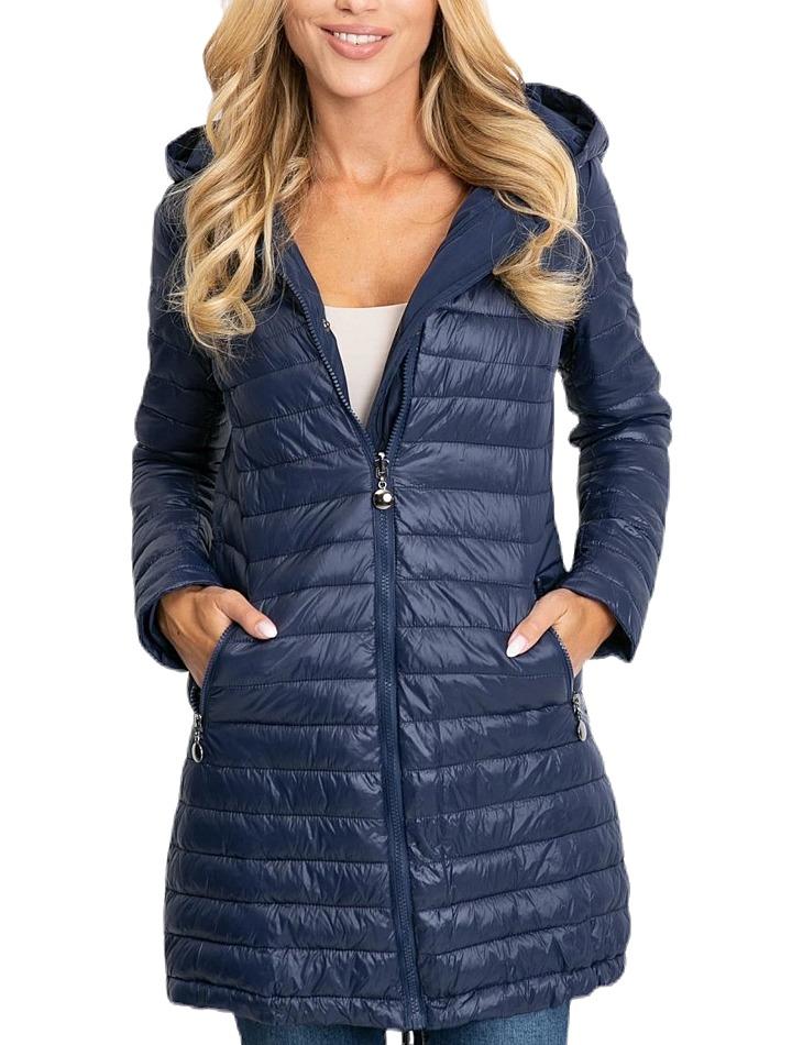 Dámska obojstranná modrá bunda vel. XL