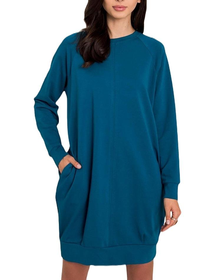 Dámske modré šaty vel. S/M