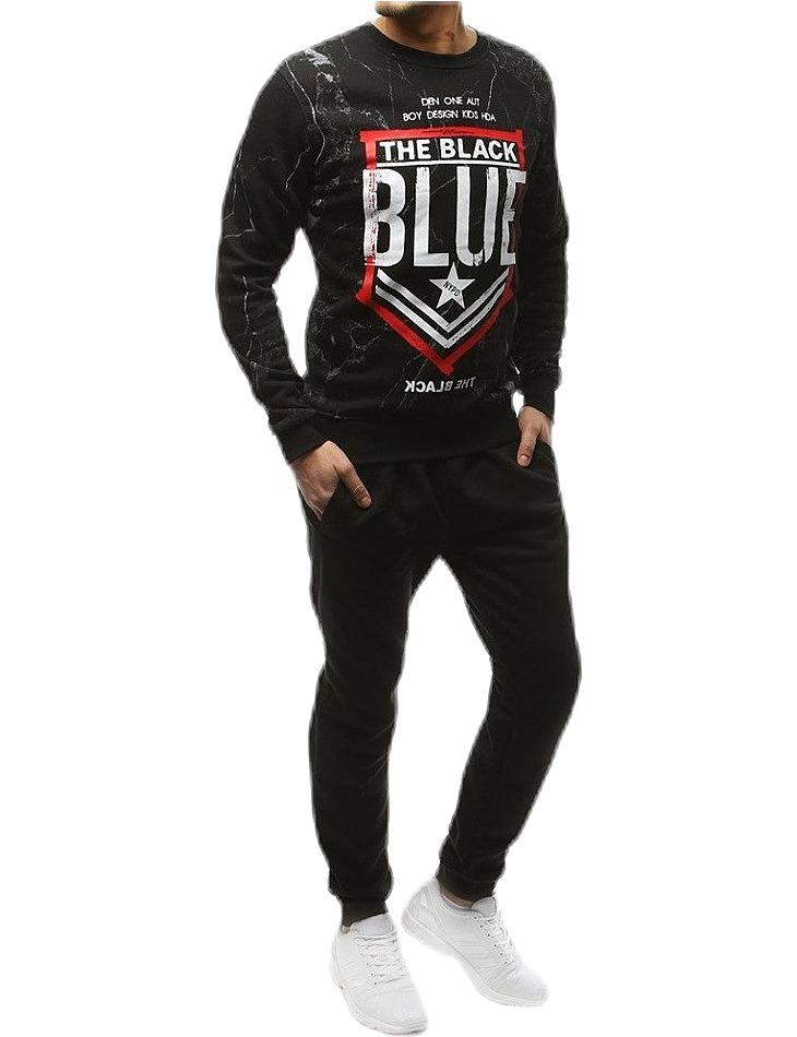 čierna súprava the black blue vel. XL