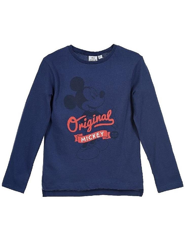 Mickey mouse chlapčenské tmavo modré tričko original vel. 98