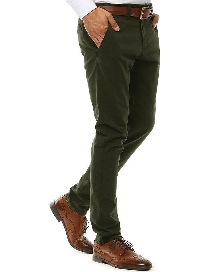 Pánske zelené nohavice vel. 30