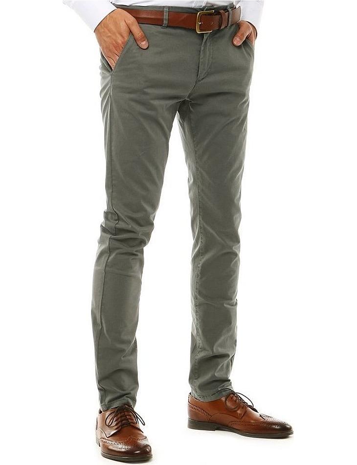 Pánske sivé nohavice vel. 28