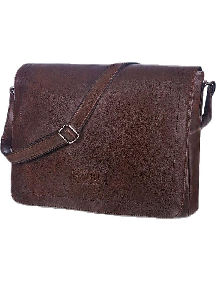 Pánska hnedá taška cez rameno vel. univerzální