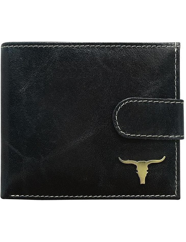 Praktická čierna peňaženka Buffalo Wild vel. univerzální
