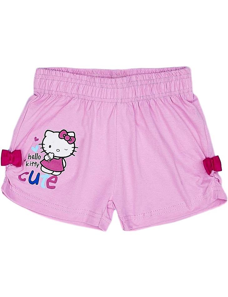 Dievčenské ružové šortky Hello Kitty vel. 116/122
