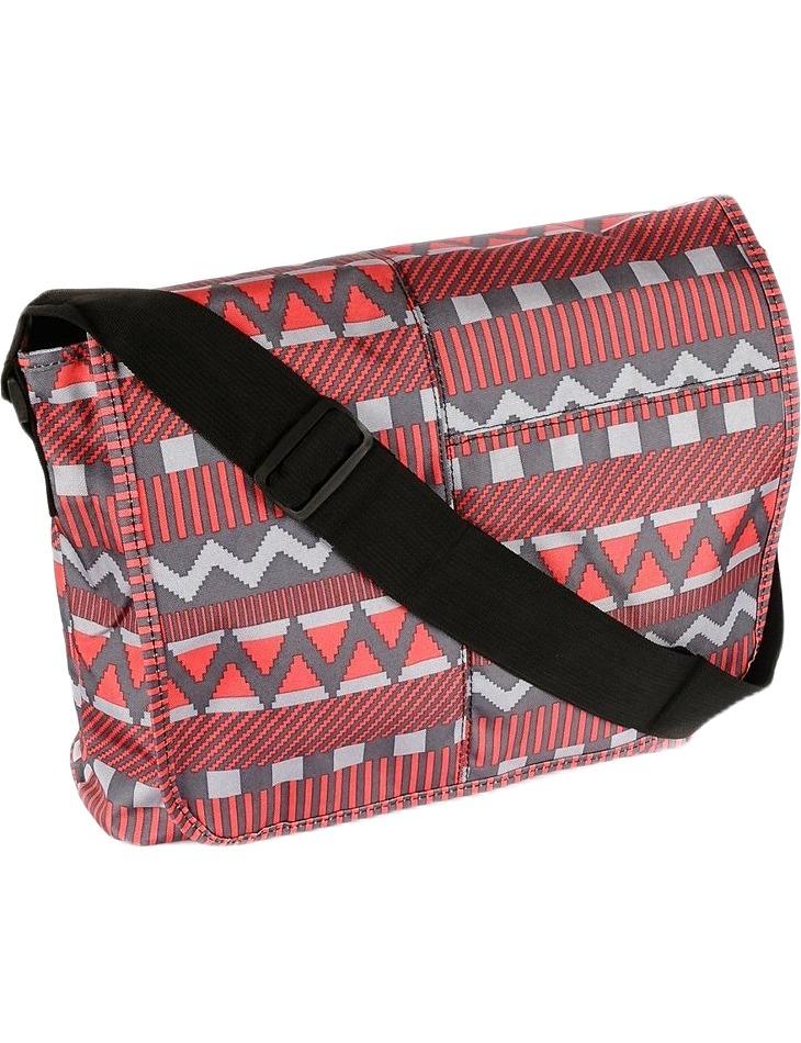 červená shopper taška s potlačou tn-3029 vel. univerzální