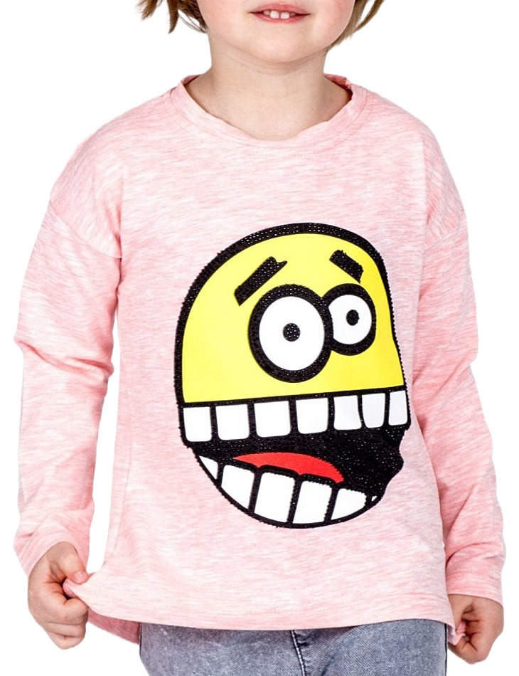 Dievčenské ružové tričko vel. 104