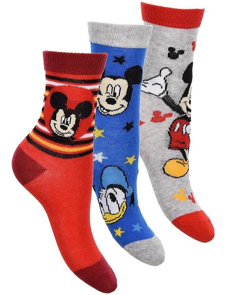 Mickey mouse disney ponožky pre chlapcov - vel. 23/26