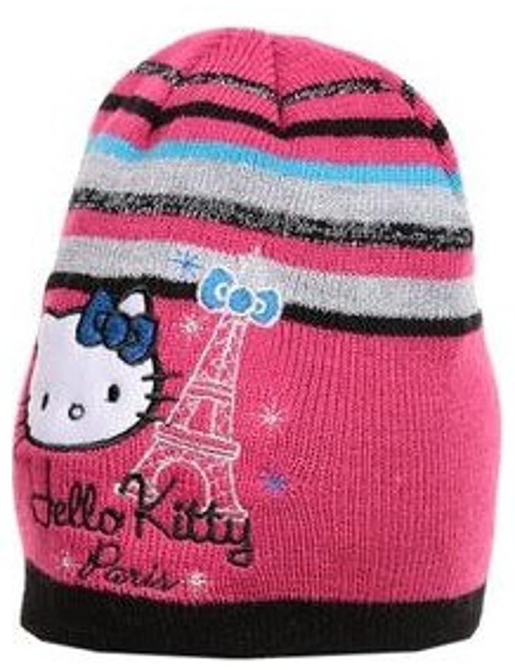 Hello Kitty dievčenská ružová čiapka paris vel. 52