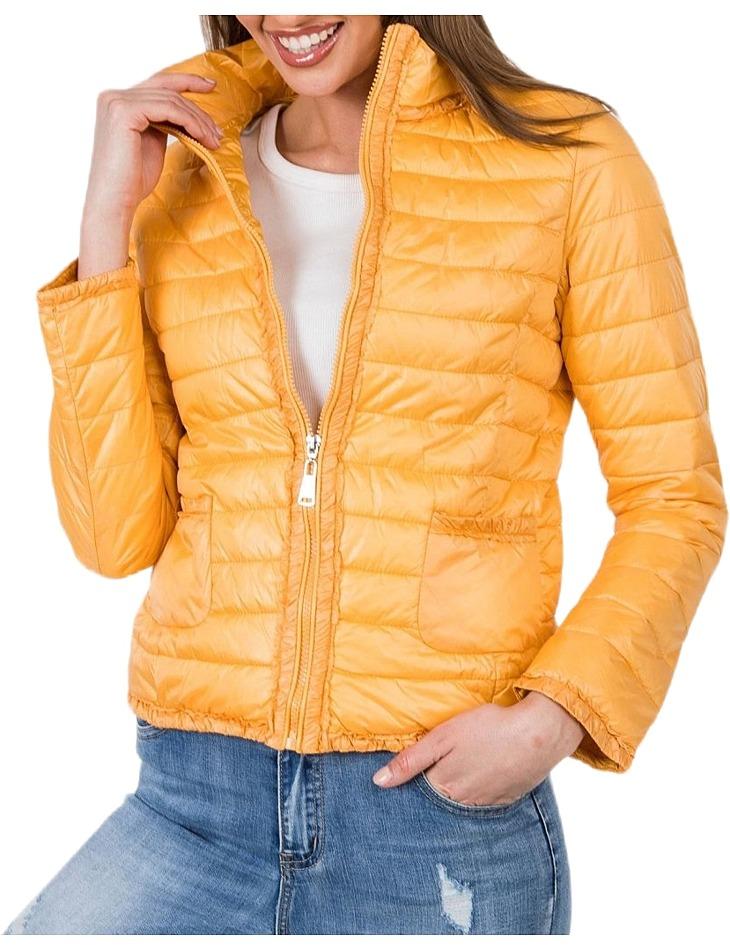 Dámska žltá bunda vel. XL